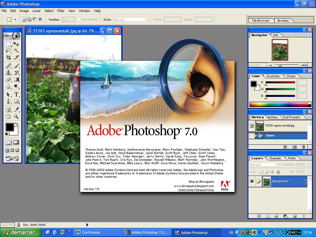 Adobe Photoshop 7.0 Download